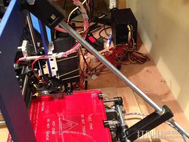 Prusa i3打印床减震器 3D打印模型渲染图