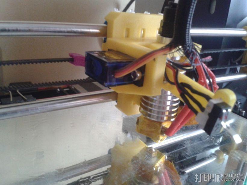 打印机自动调平器 3D打印模型渲染图