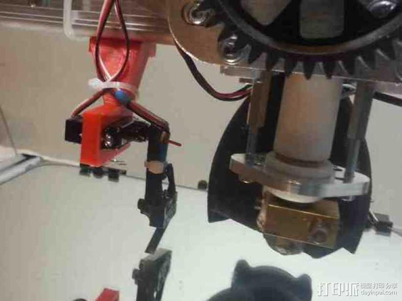 K8200 / 3Drag打印机Z轴探针支架 3D打印模型渲染图