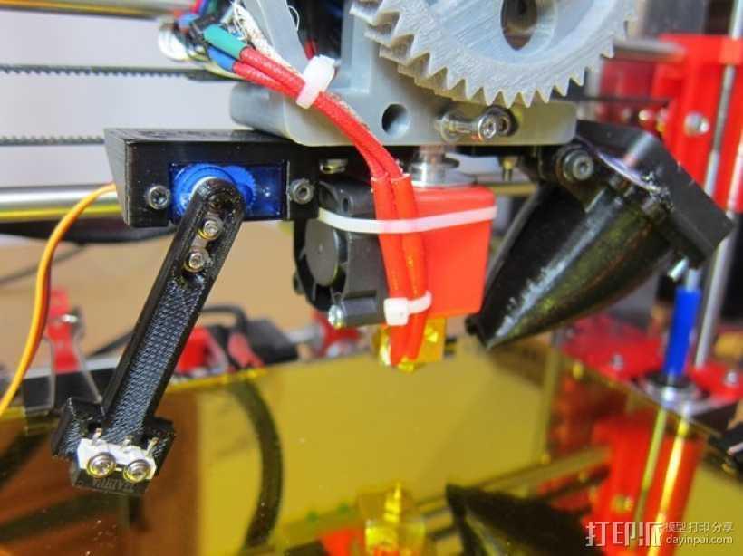 J-Head喷头自动调平器 3D打印模型渲染图