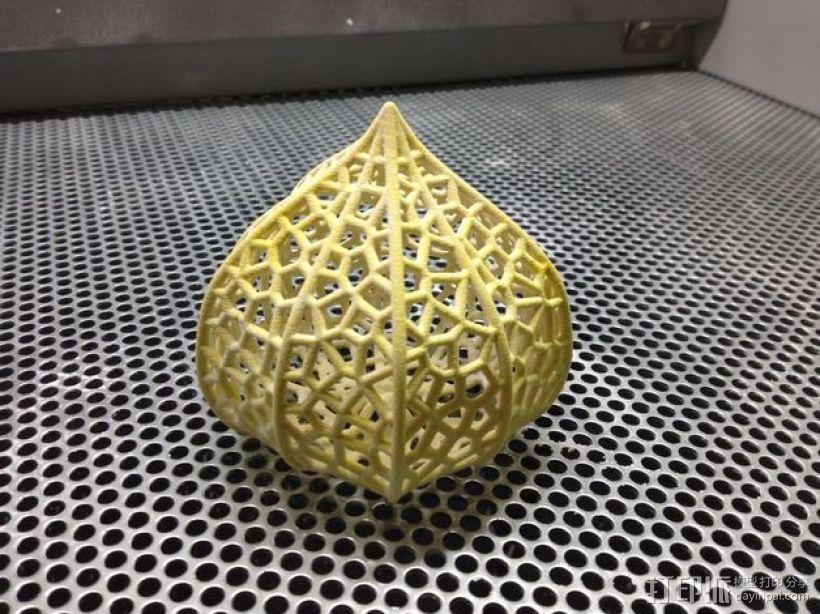 灯笼草  灯罩 3D打印模型渲染图