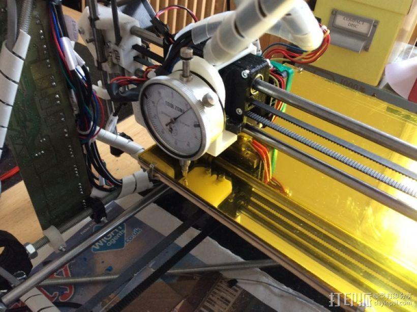 调平器支架 3D打印模型渲染图