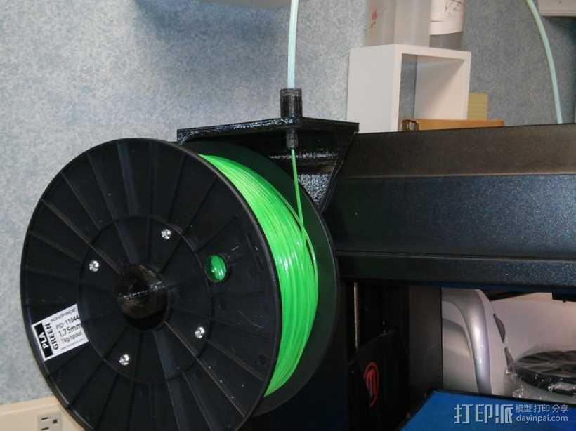 加大版线轴支架 3D打印模型渲染图