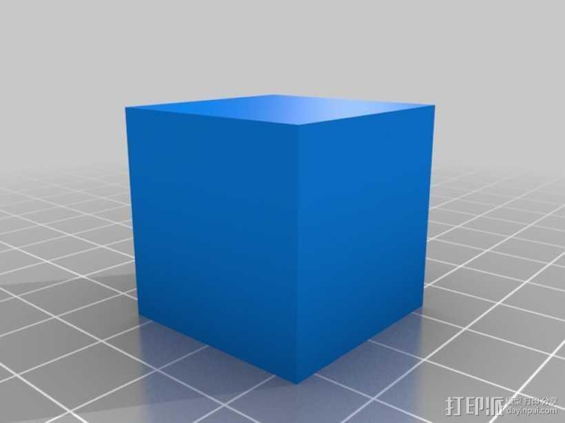 MakerGear M2打印机测试 3D打印模型渲染图