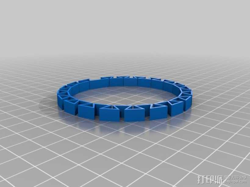 K8200打印机打印测试 3D打印模型渲染图