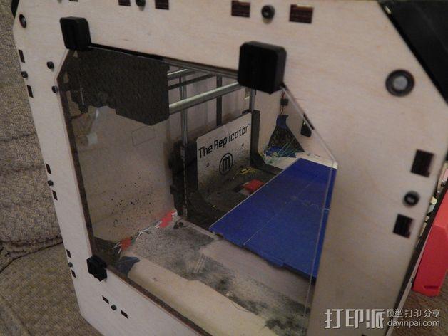 玻璃夹 3D打印模型渲染图
