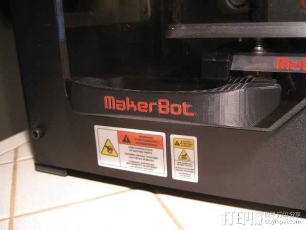 Replicator 2x打印机门把手 3D打印模型渲染图