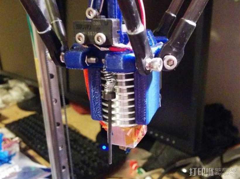 打印机效应器 3D打印模型渲染图