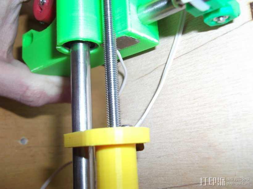 打印机Z轴限位开关 3D打印模型渲染图