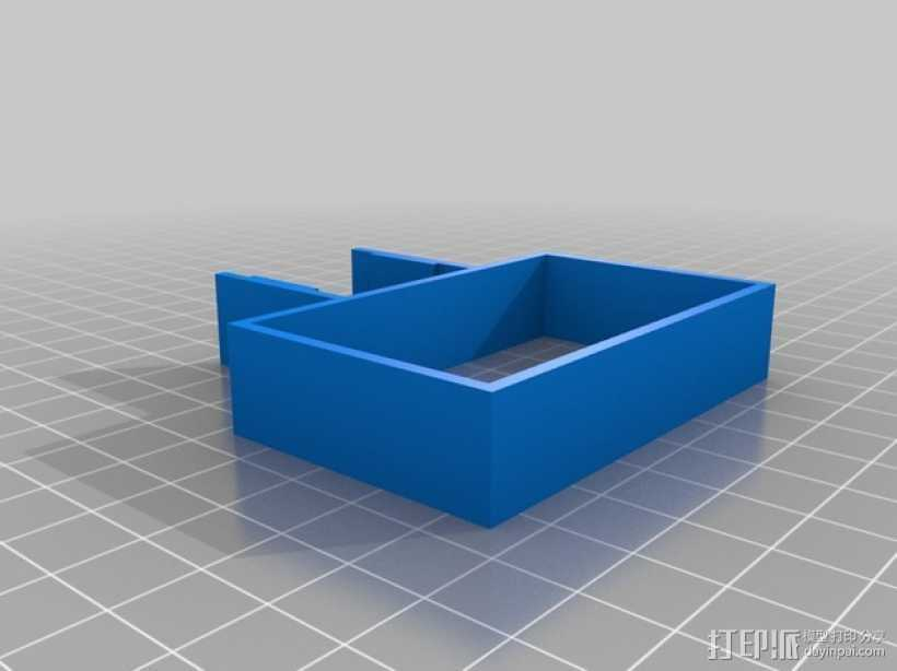Velleman k8200电源支架 3D打印模型渲染图