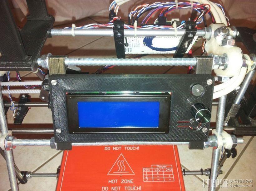 智能控制器电路板外盒 3D打印模型渲染图