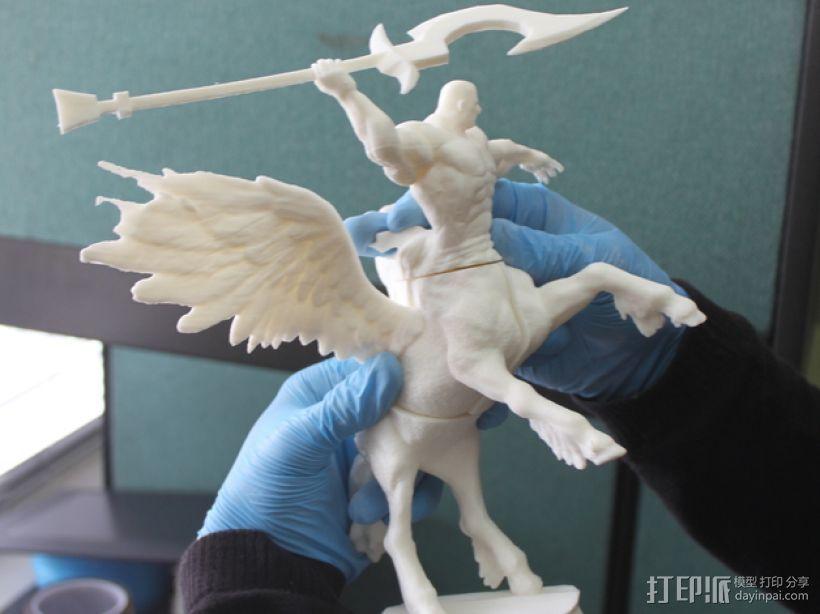 半人马  3D打印模型渲染图
