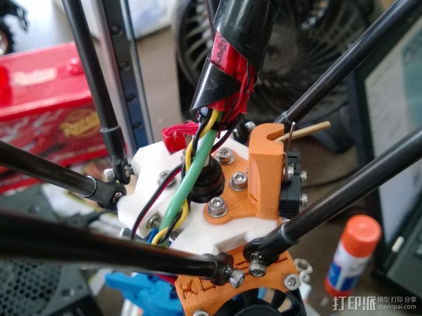 自动调平探针 3D打印模型渲染图