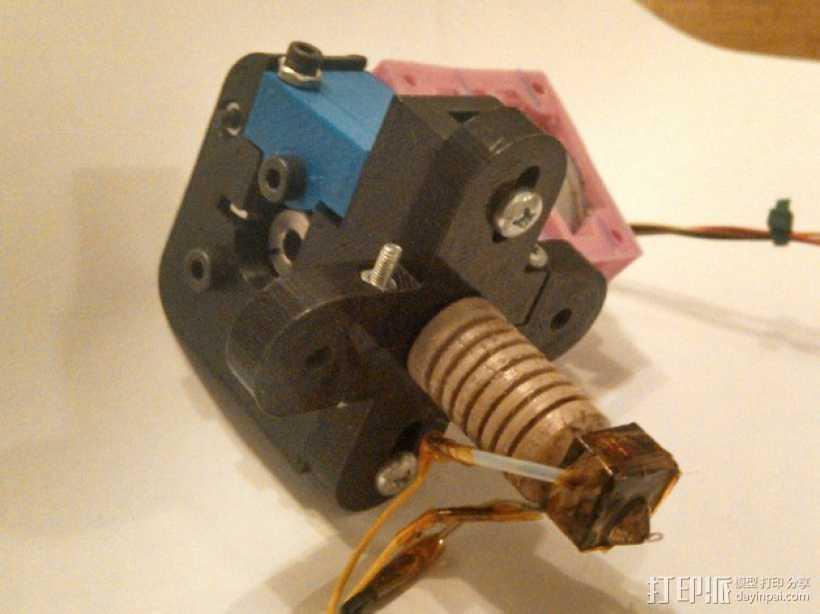 可旋转喷头支架 3D打印模型渲染图
