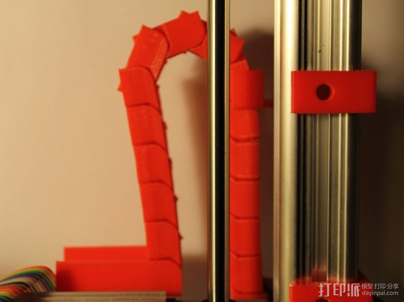 Z轴锚链 3D打印模型渲染图