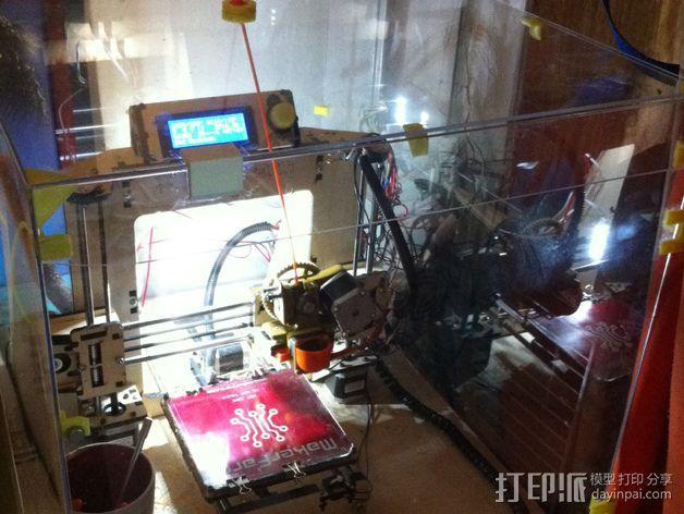 3D打印机外罩支撑 3D打印模型渲染图