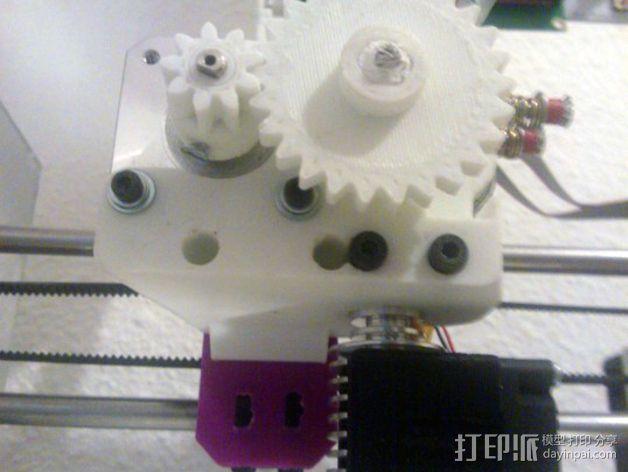 挤出机 3D打印模型渲染图