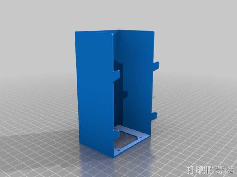 RAMPS 1.4电路板保护罩 3D打印模型渲染图