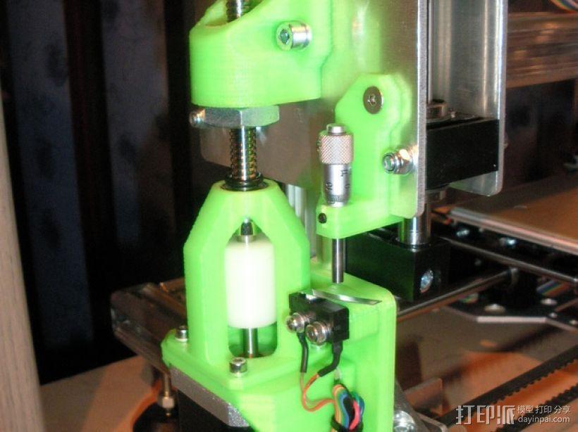 步进马达支架 3D打印模型渲染图