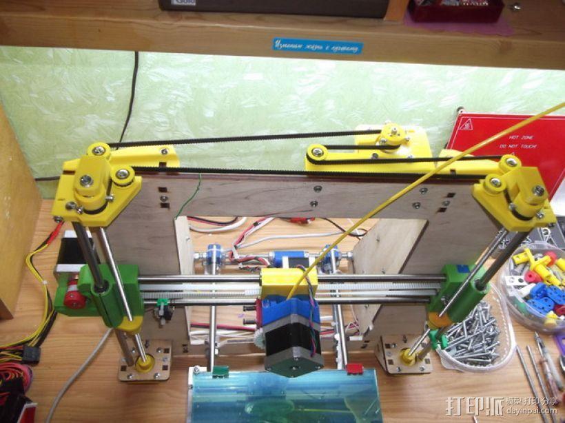 Prusa i3打印机的Z马达 3D打印模型渲染图