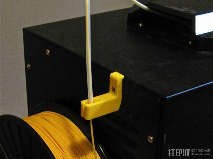 线材导线器 3D打印模型渲染图
