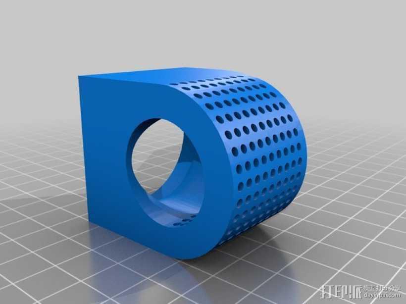 风扇适配器 风扇支架 3D打印模型渲染图
