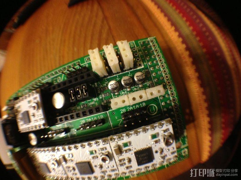 插头连接器 3D打印模型渲染图