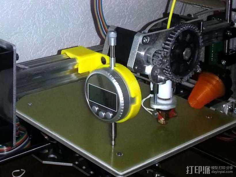 打印床校准工具 3D打印模型渲染图
