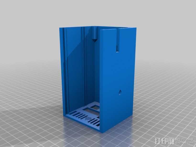 RAMPS 1.4电路板外罩 3D打印模型渲染图