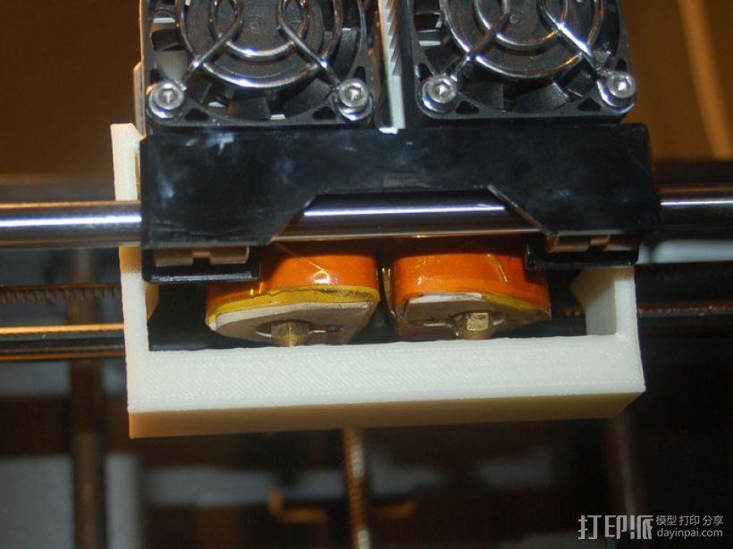 喷嘴调平器 3D打印模型渲染图