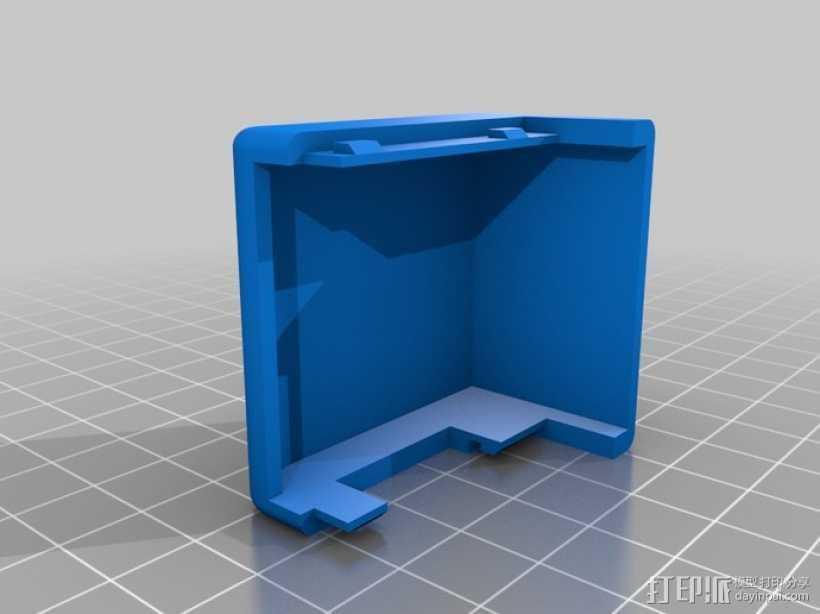 挤出机罩 3D打印模型渲染图