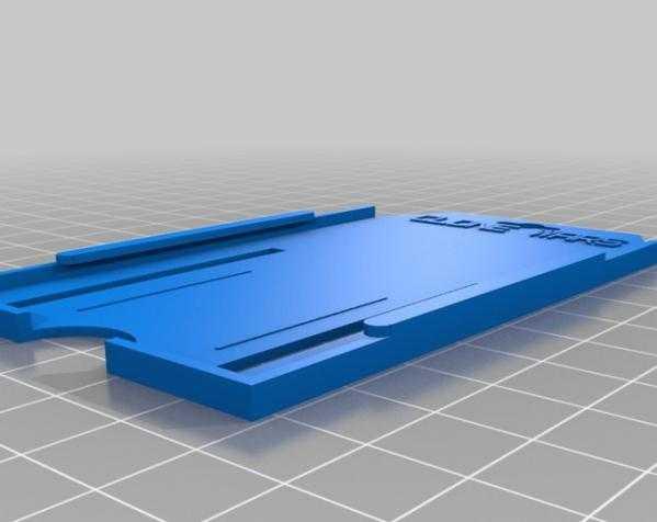 身份证收藏夹 3D打印模型渲染图