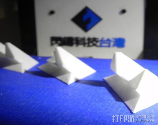 打印机 孔塞 3D打印模型渲染图