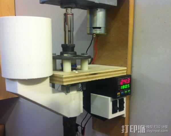 垂直送料斗 3D打印模型渲染图