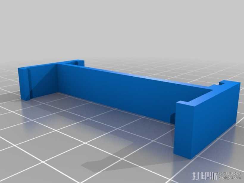 Ramps 1.4电路板适配器 3D打印模型渲染图