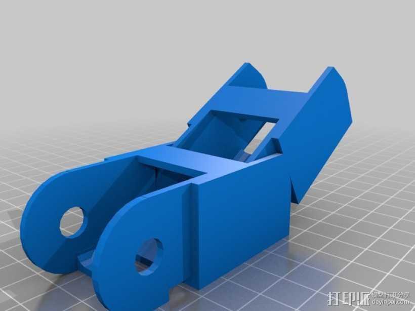 能量链条 3D打印模型渲染图