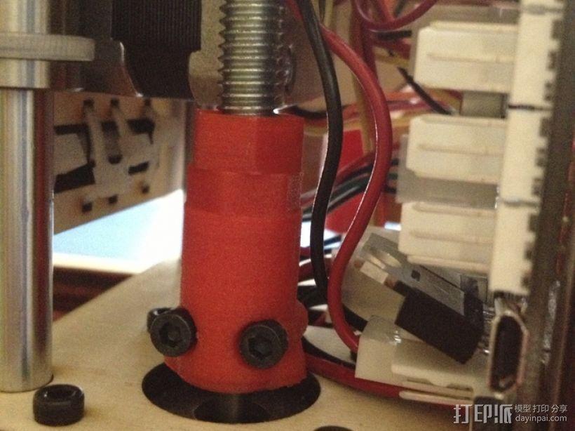 耦合器 3D打印模型渲染图