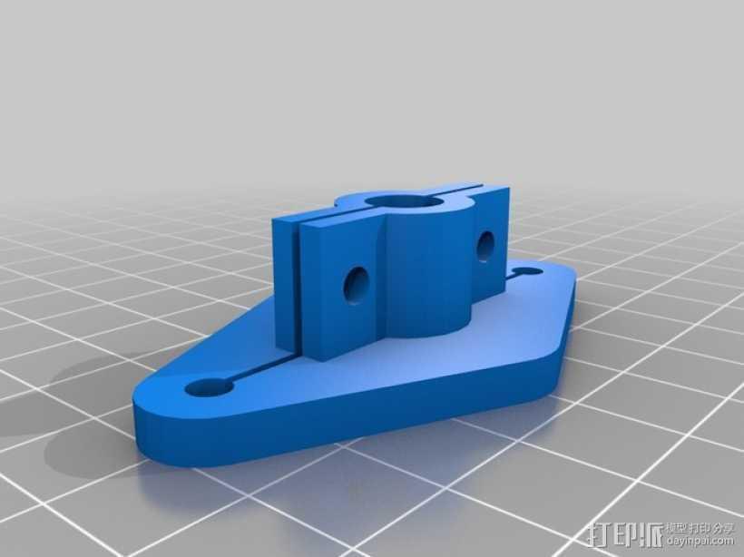 刻度仪支架 3D打印模型渲染图