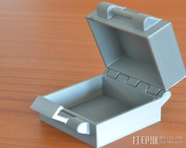 小扣盒 盒子 3D打印模型渲染图