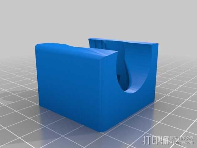 40毫米的风扇支架 3D打印模型渲染图