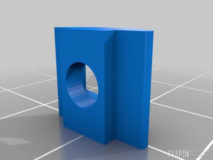 M3 & M4螺母板 3D打印模型渲染图