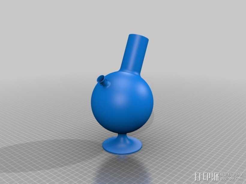 烟斗 3D打印模型渲染图