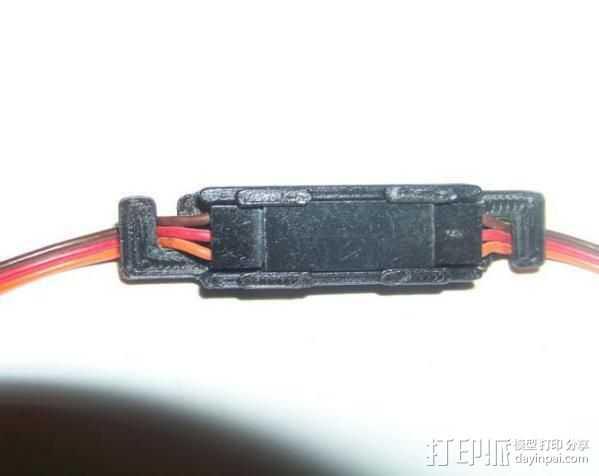电缆锁夹 3D打印模型渲染图