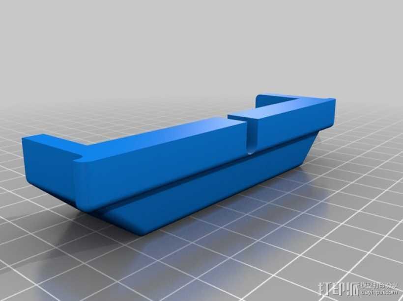 电缆夹  3D打印模型渲染图