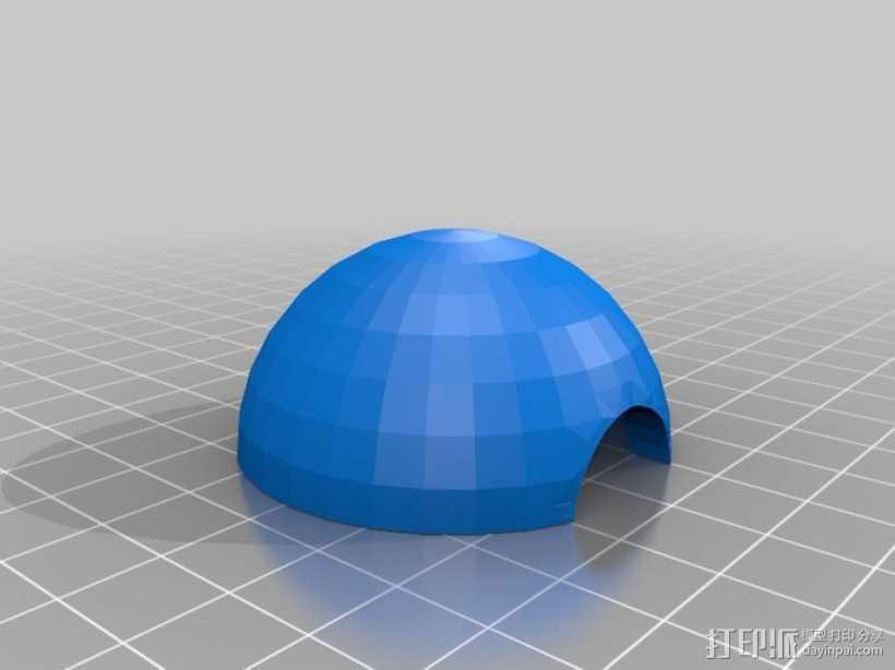 口袋妖怪球 精灵球 3D打印模型渲染图