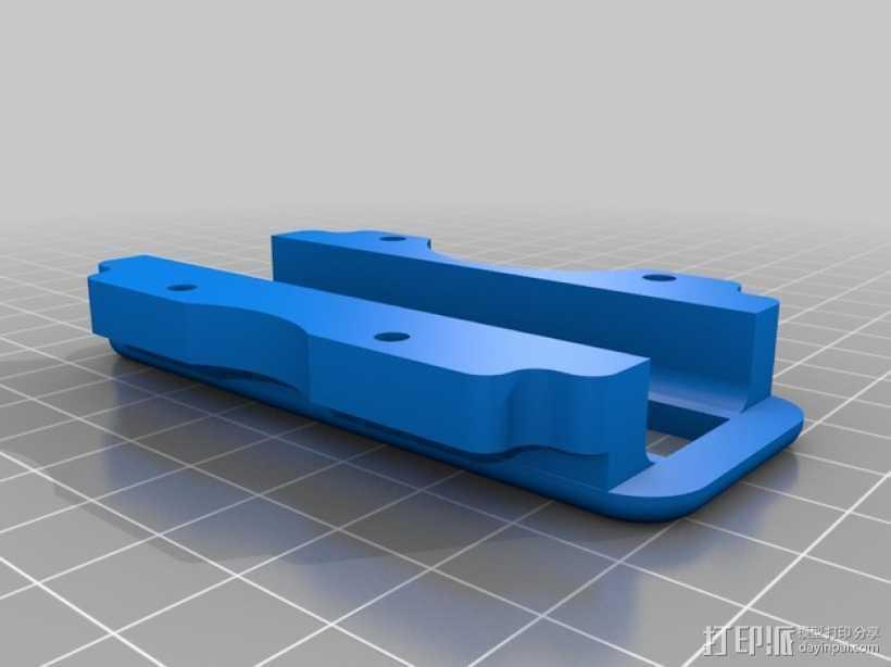打印床稳定器 3D打印模型渲染图