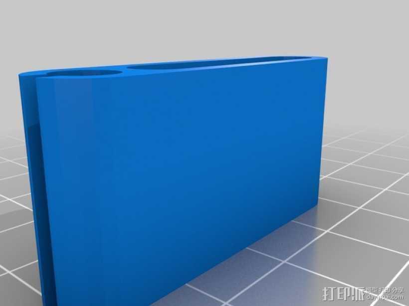 弹性PLA材料测试 3D打印模型渲染图