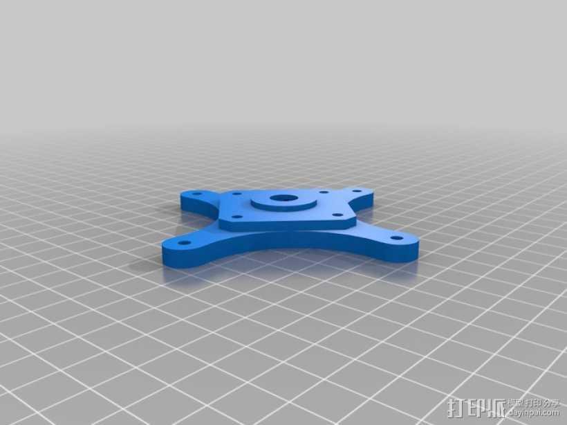 挤出机齿轮 行星齿轮 3D打印模型渲染图