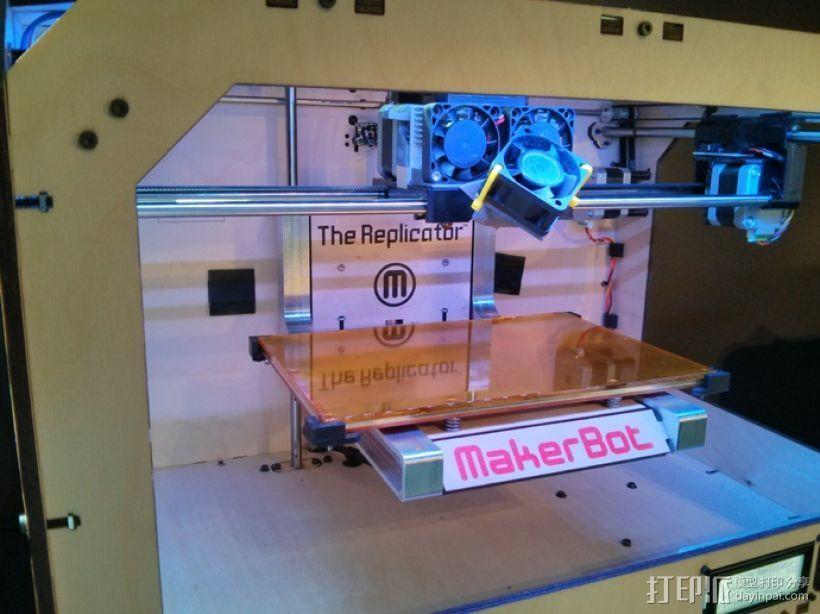 散热风扇 3D打印模型渲染图