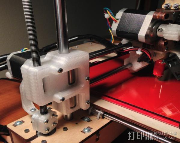 Printrbot打印机 3D打印模型渲染图